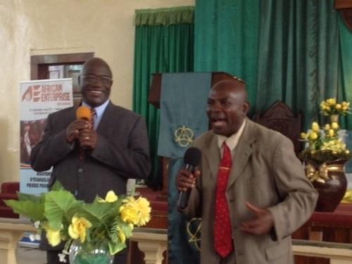God at work in Lubumbashi